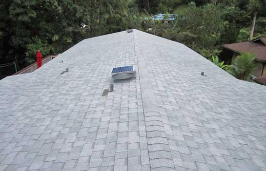 Solar Fan installation