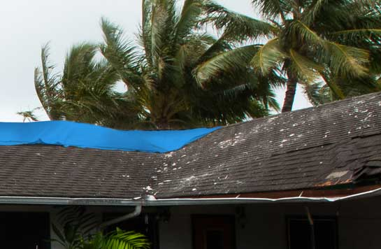 Some roof damage from the severe weather was easy to spot, but hail damage is not always evident to the untrained eye. Our experts can identify hail roof damage that you might not know is there and help you get a nearly-free new roof.